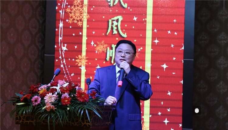 公司2015年度总结会议暨2016年赢·新启航年度晚宴 隆重举行